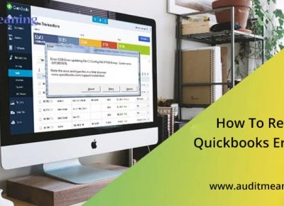 How To Resolve Quickbooks Error 1603